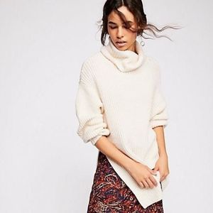 NEW Free People Free People Eleven Sweater Cream